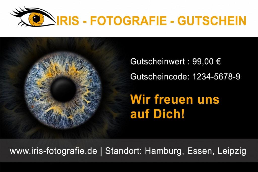 Iris-Foto Gutschein