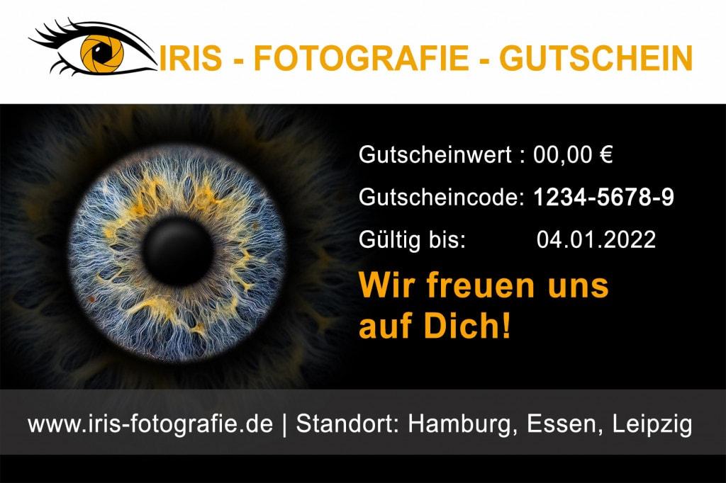Iris-Fotografie Gutschein